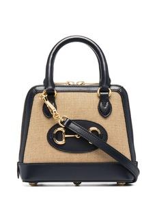Gucci signature Horsebit detail tote bag