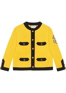 Gucci Silk jacket with appliqué