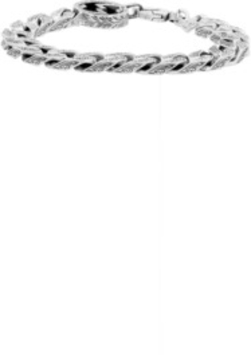 Gucci Silver Interlocking G Chain Bracelet