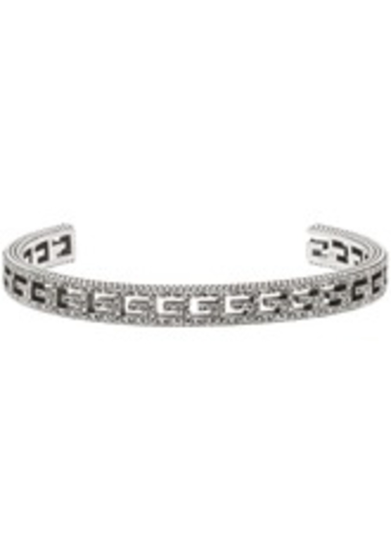 Gucci Silver Square G Bracelet