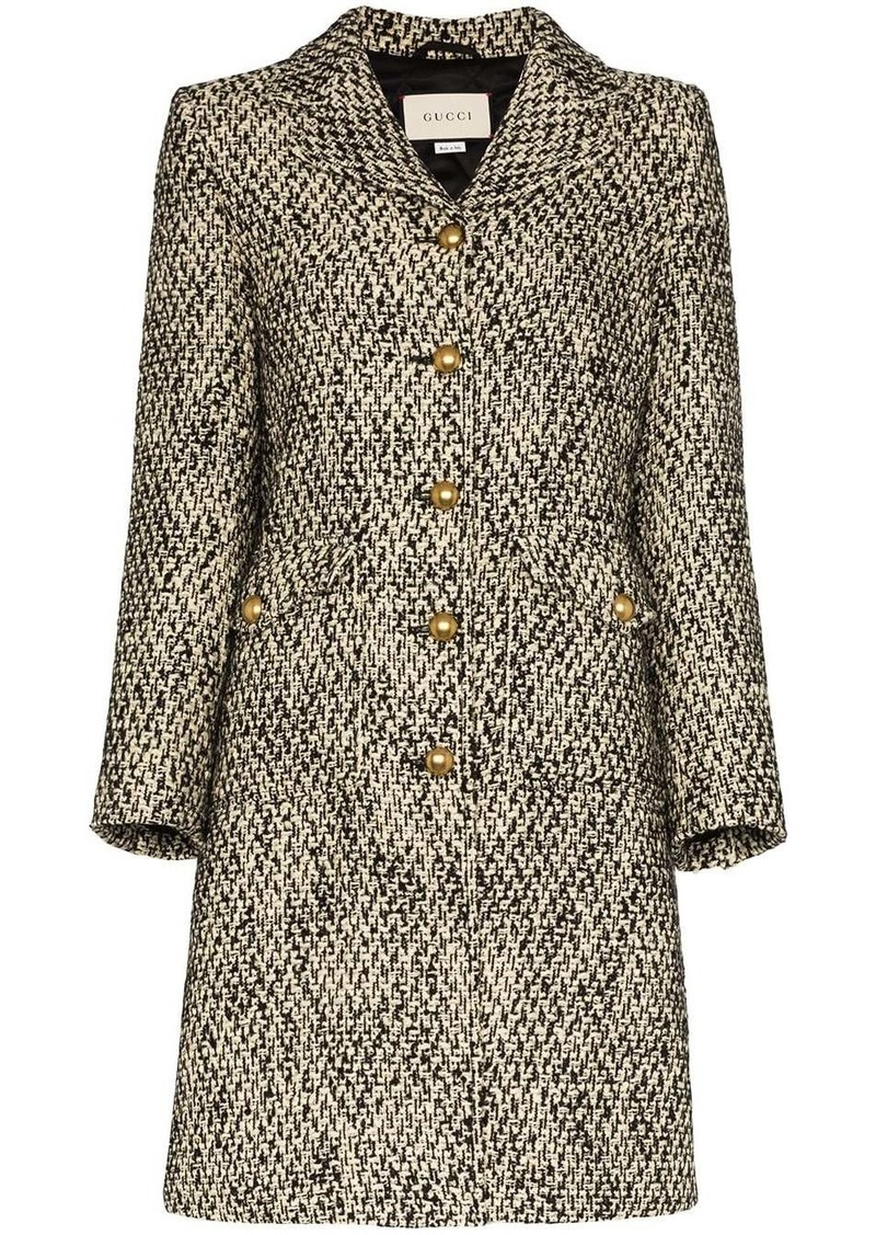 Gucci single-breasted Double G coat