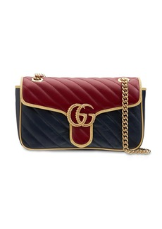 Gucci Small Gg Marmont Leather Shoulder Bag