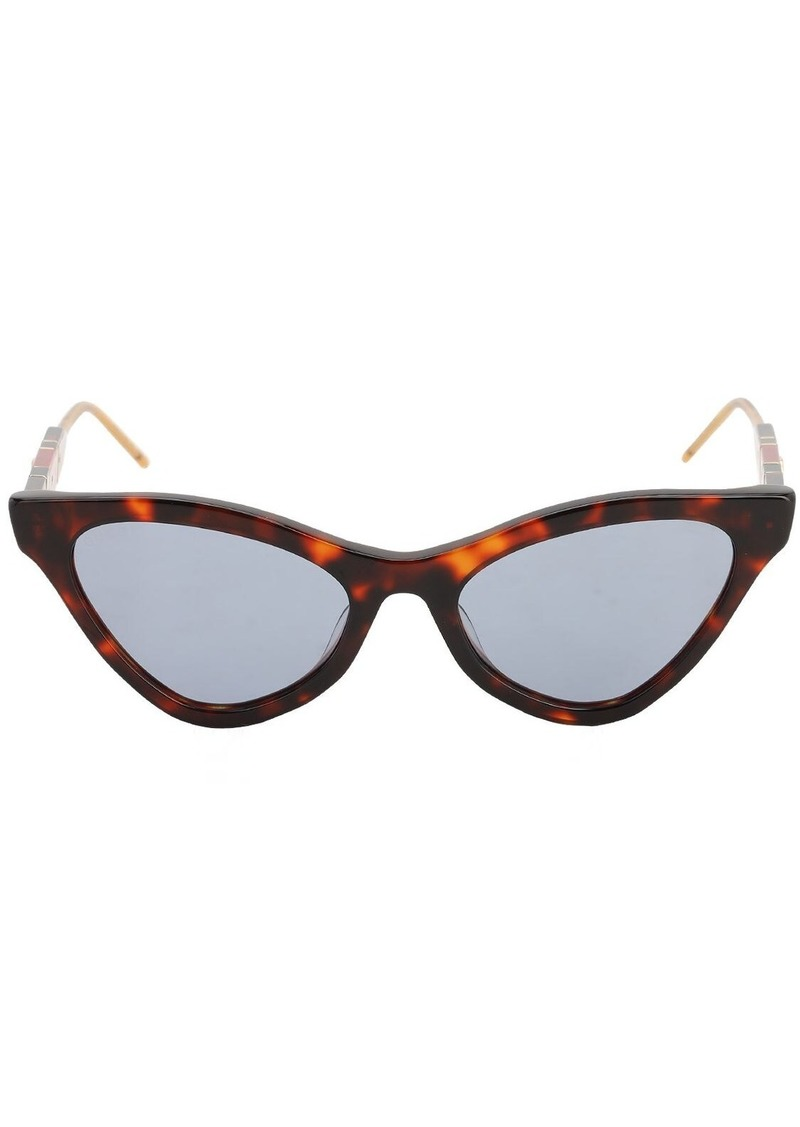 Gucci Sophisticated Web Acetate Sunglasses