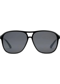 c0db8b801f Gucci Havana 52MM Tortoiseshell Square Sunglasses