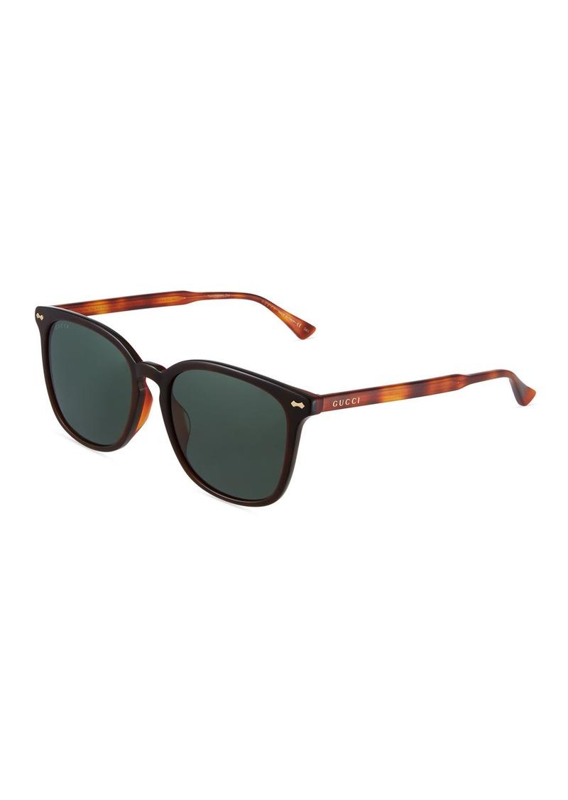8222f3469fce Gucci Square Acetate Sunglasses | Sunglasses
