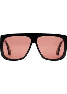 38ebd7539e On Sale today! Gucci Men s Square Tortoise Acetate Sunglasses