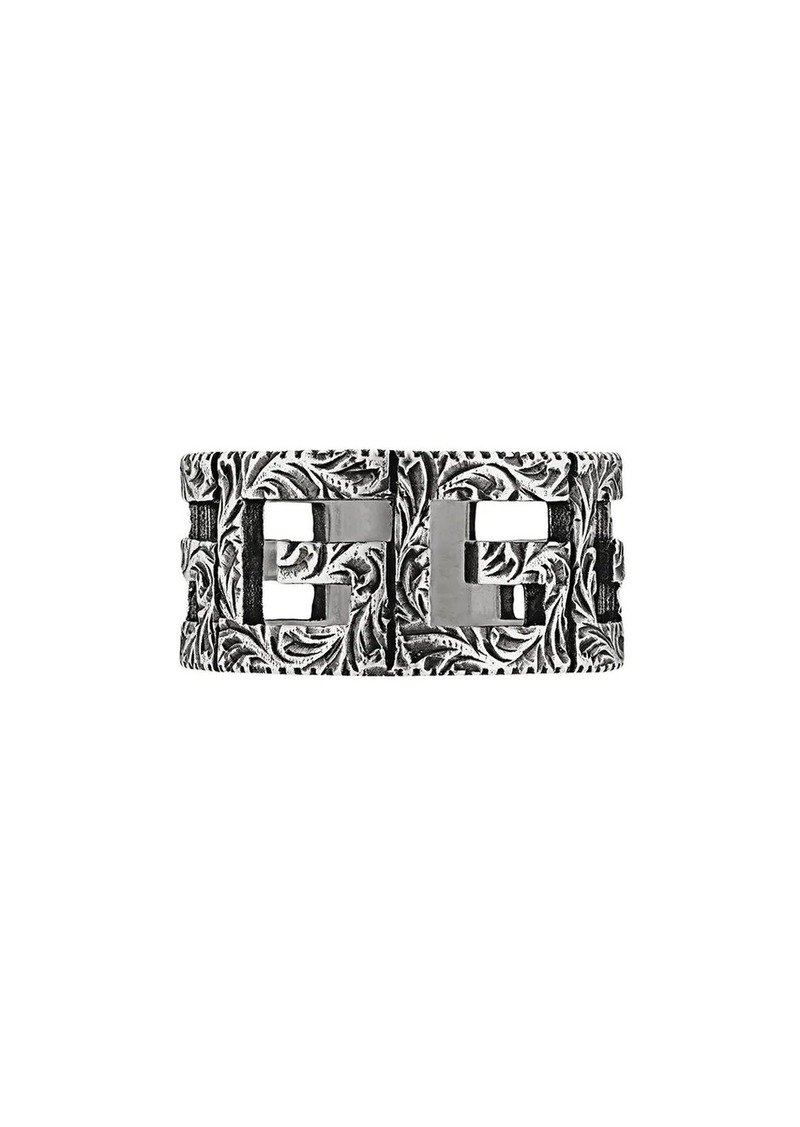 Gucci Square G motif ring