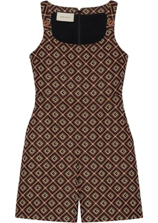 Gucci Square G print playsuit