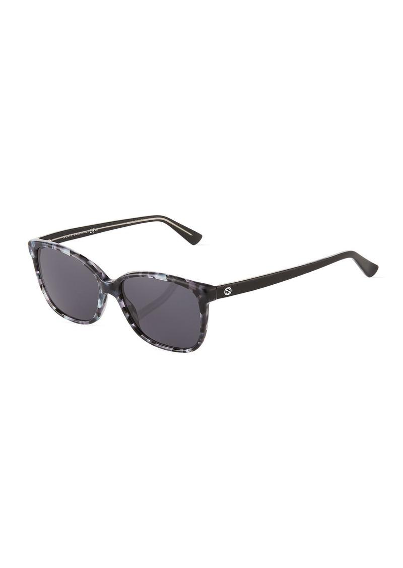 7a117e080d2a4 Gucci Square Plastic Sunglasses