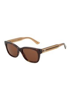 Gucci Square Plastic Sunglasses