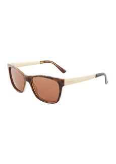 Gucci Square Plastic/Metal Sunglasses