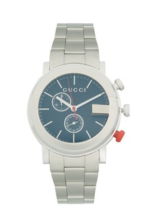 Gucci Stainless Steel Chronograph Bracelet Watch