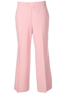 Gucci straight cropped trousers