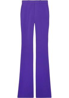 Gucci Stretch viscose skinny flare trousers