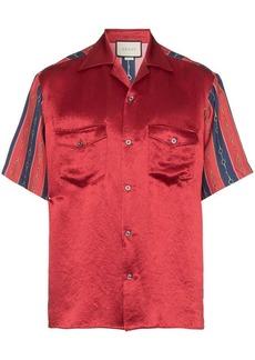 Gucci striped chain print shirt