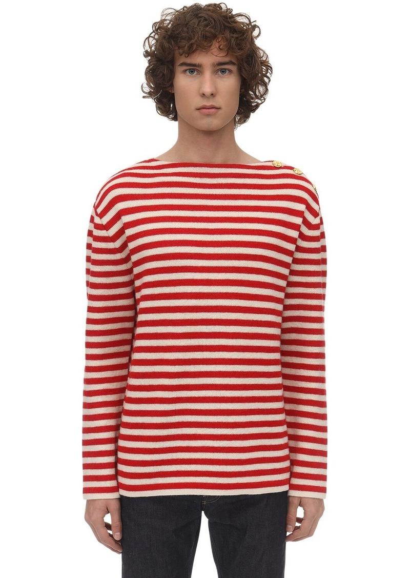 Gucci Striped Wool Knit Sweater