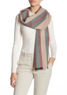 Gucci Striped Wool Scarf