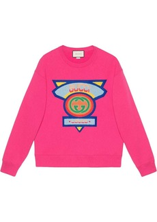 Sweatshirt with Gucci '80s patch