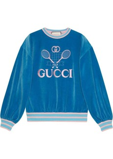 Sweatshirt with Gucci Tennis