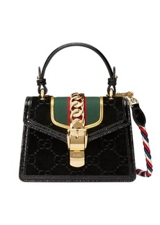 60d558c53 Gucci black Tifosa metal studded mini bag   Handbags