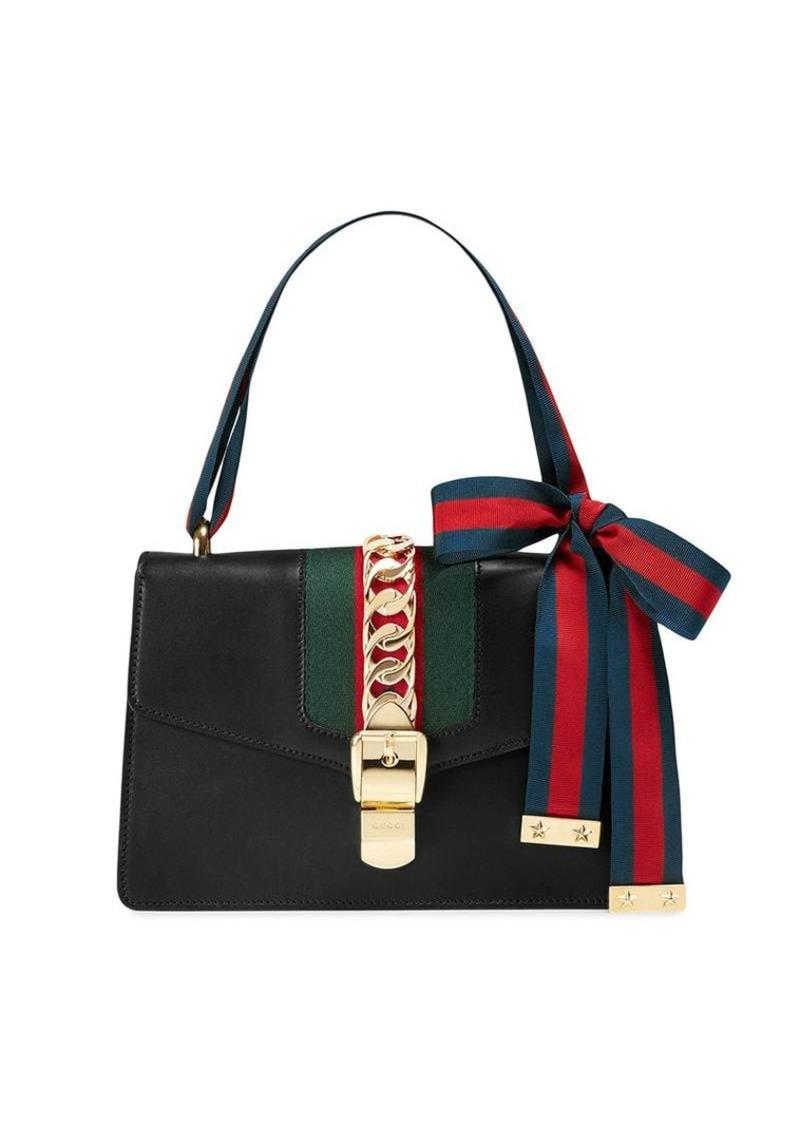 8fafa2e7492f Gucci black Sylvie leather shoulder bag