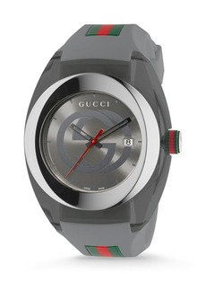 Gucci Sync Stainless Steel Rubber Watch