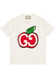 Gucci GG apple print T-shirt