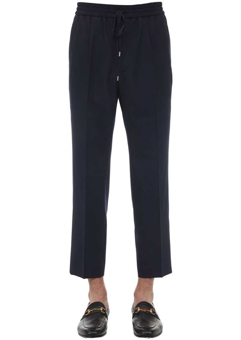 Gucci Tailored Wool Jogging Pants
