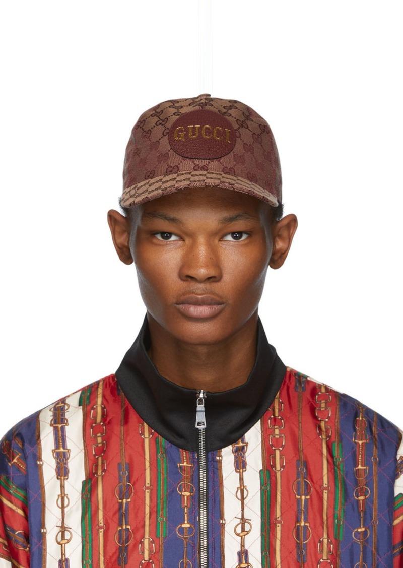 Gucci Tan GG Patch Cap