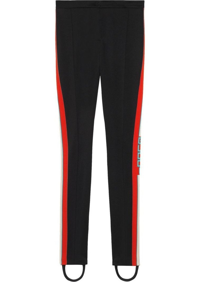 077dea08385 Gucci Technical jersey stirrup leggings