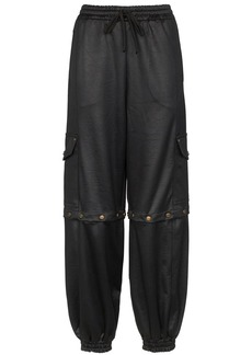 Gucci technical track trousers