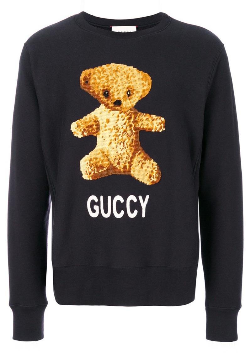 30c5ecabb43 Gucci teddy bear sweatshirt