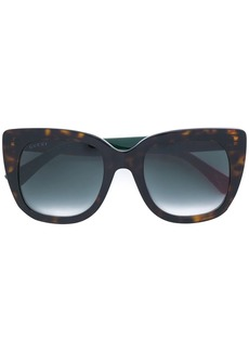 Gucci tortoiseshell-effect sunglasses