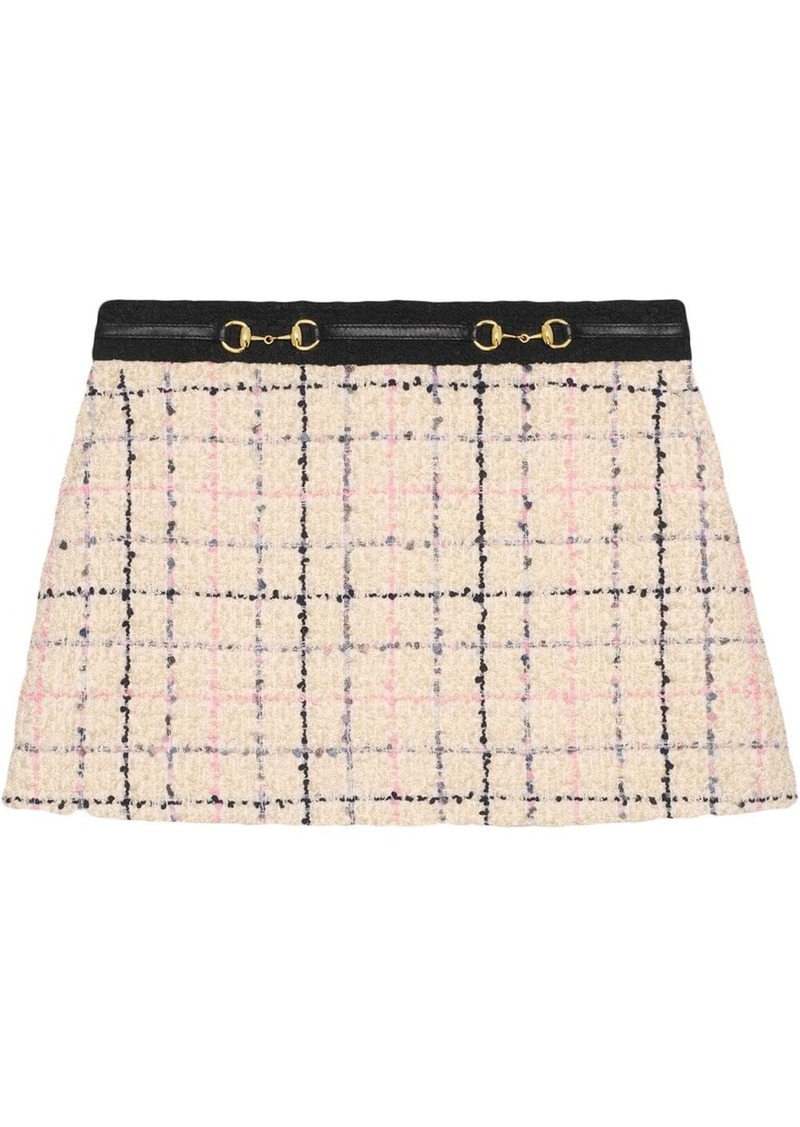 Gucci Tweed mini skirt
