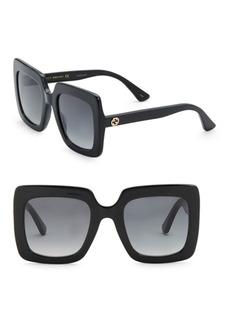 Gucci Urban 53MM Square Sunglasses