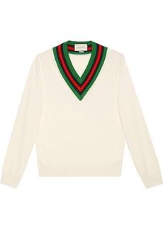 Gucci v-neck knit jumper