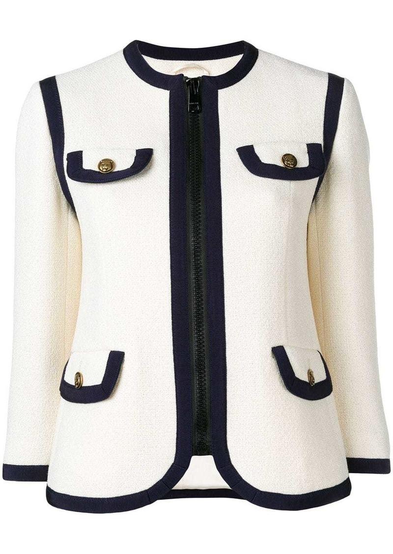 Gucci vintage-inspired tweed-style jacket