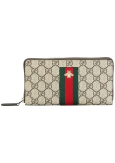 Gucci Web GG Supreme continental wallet