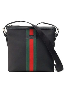 Gucci Web techno canvas small messenger bag
