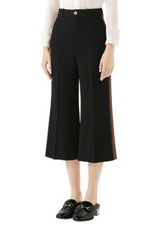 Gucci Web Trim Culotte Pants