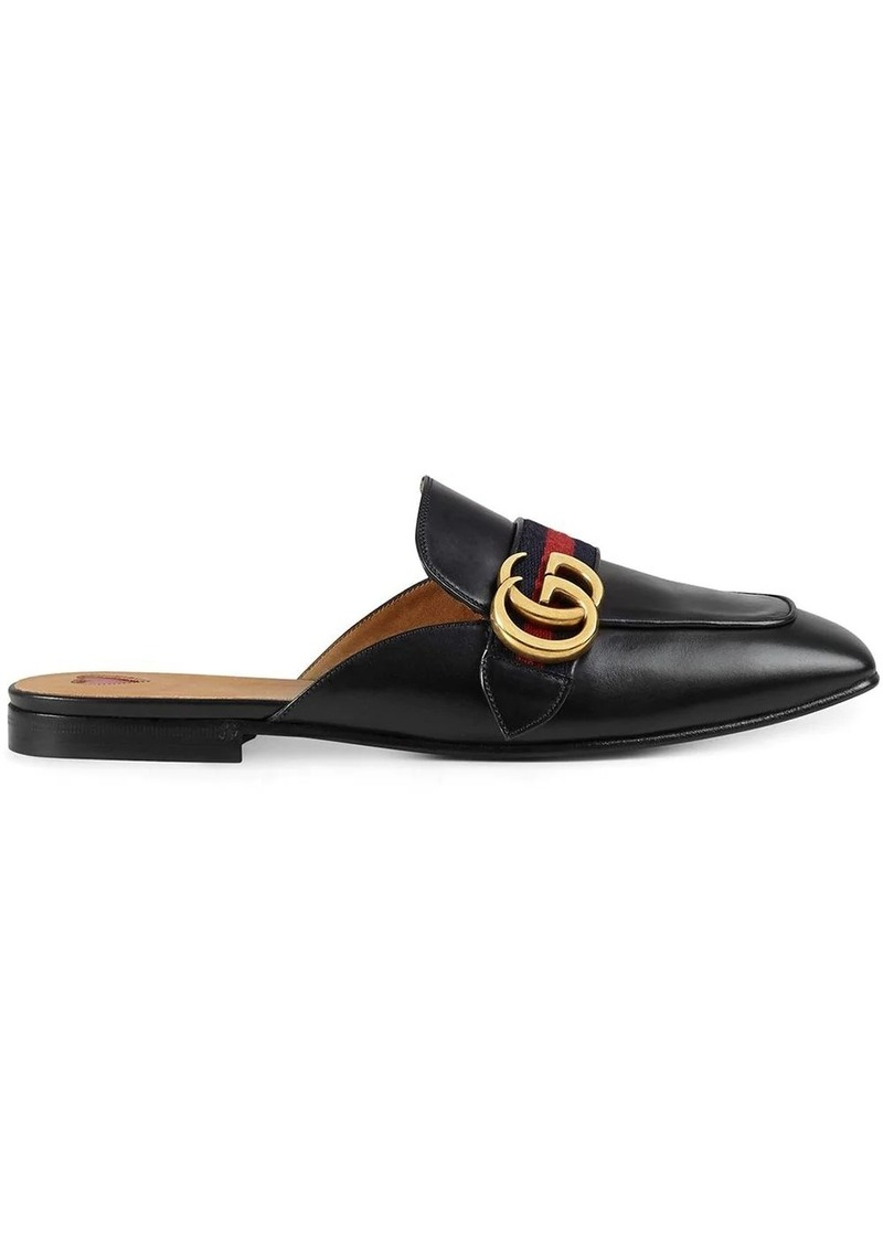 Gucci Web-trimmed slippers