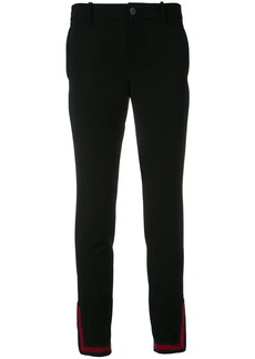 Gucci Web zipped cuff trousers