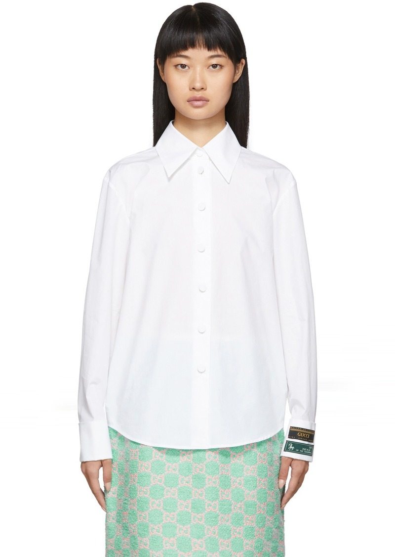 Gucci White Label Shirt