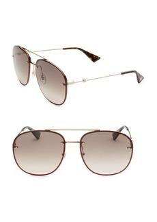 Gucci Wire Aviator Sunglasses