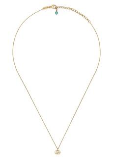 Women's Gucci Gg Running Pendant Necklace