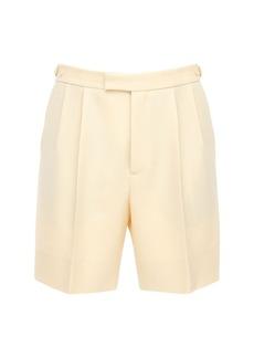 Gucci Wool & Mohair Shorts