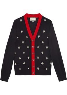 264af9f94 Gucci Gucci Tiger-intarsia wool sweater