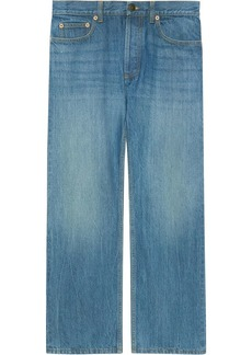Gucci x Disney eco denim jeans