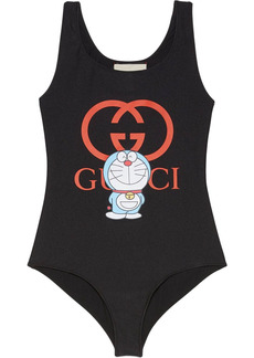 Gucci x Doraemon print swimsuit