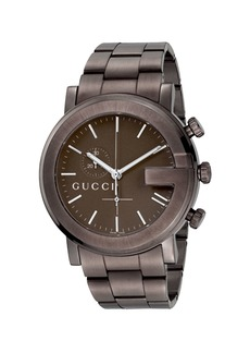 Gucci XL PVD G Chronograph  Brown